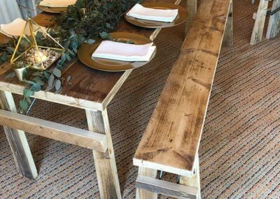 2m Wooden Table