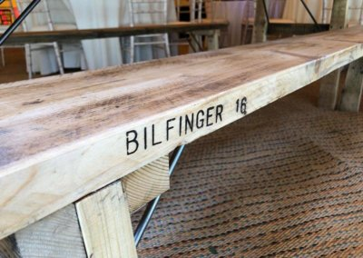 2m Wooden Benches