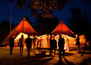 Single Tipi for hire